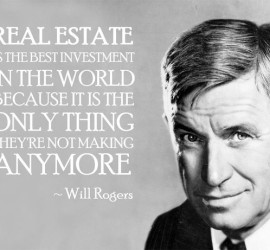 will rogers real estate quote