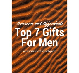 Awesome and Affordable Gifts for Men