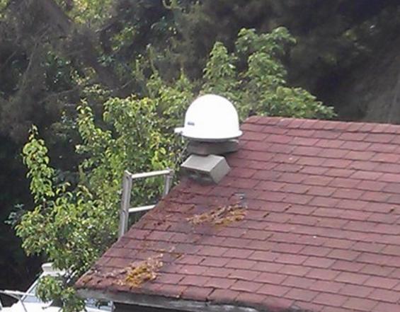 satellite dish fix