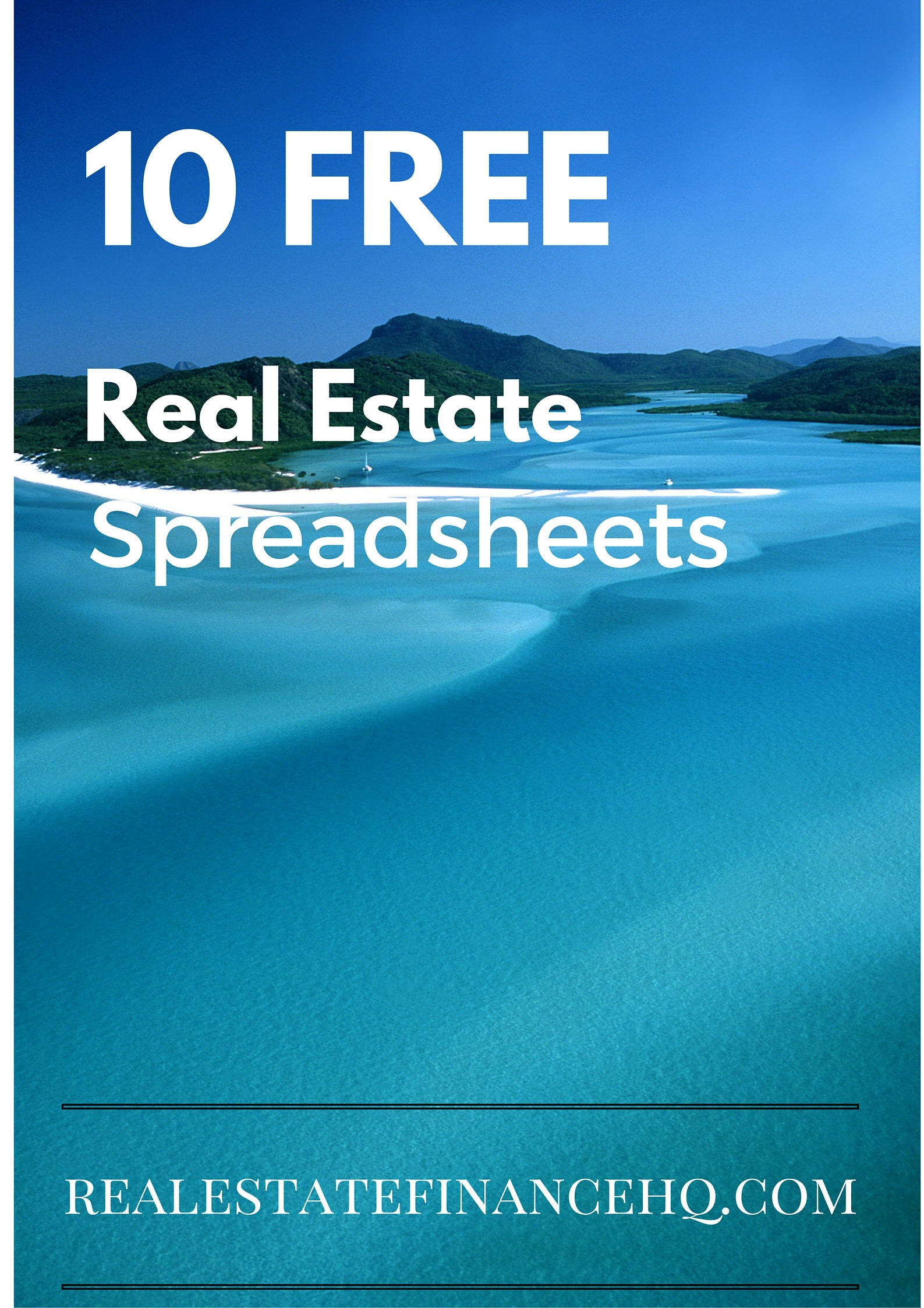 10 Free Real Estate Spreadsheets