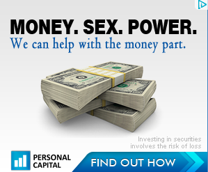 personal capital money, sex and power ad