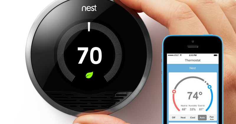 nest thermostat for home automation